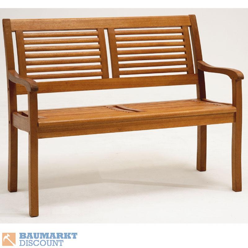 gartenbank 2 sitzer aus eukalyptus hartholz holzbank paolo ebay. Black Bedroom Furniture Sets. Home Design Ideas