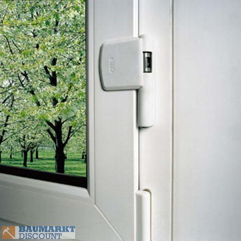 Abus fas 101 fenster scharnierseiten sicherung fas101 wei for Fenster schnelle lieferung