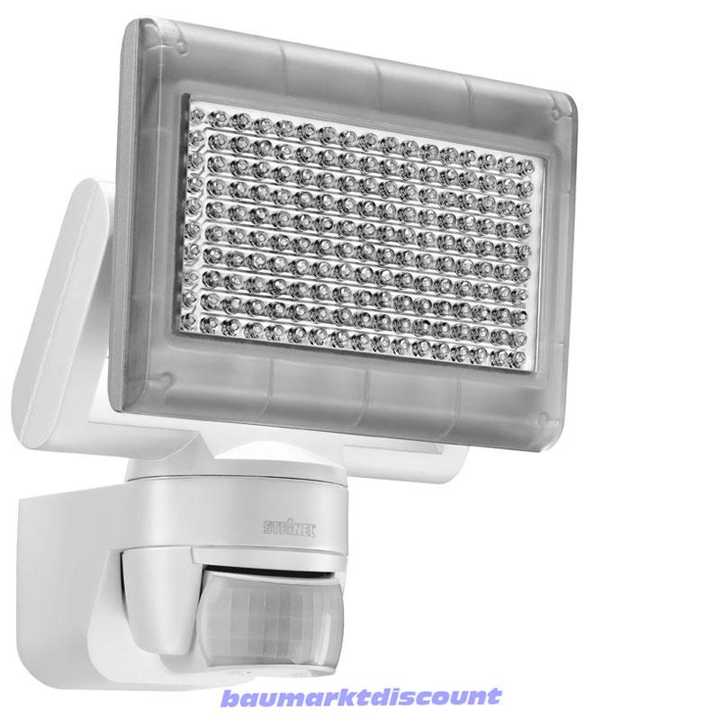 steinel sensor led strahler xled home 1 weiss 002695 ebay. Black Bedroom Furniture Sets. Home Design Ideas