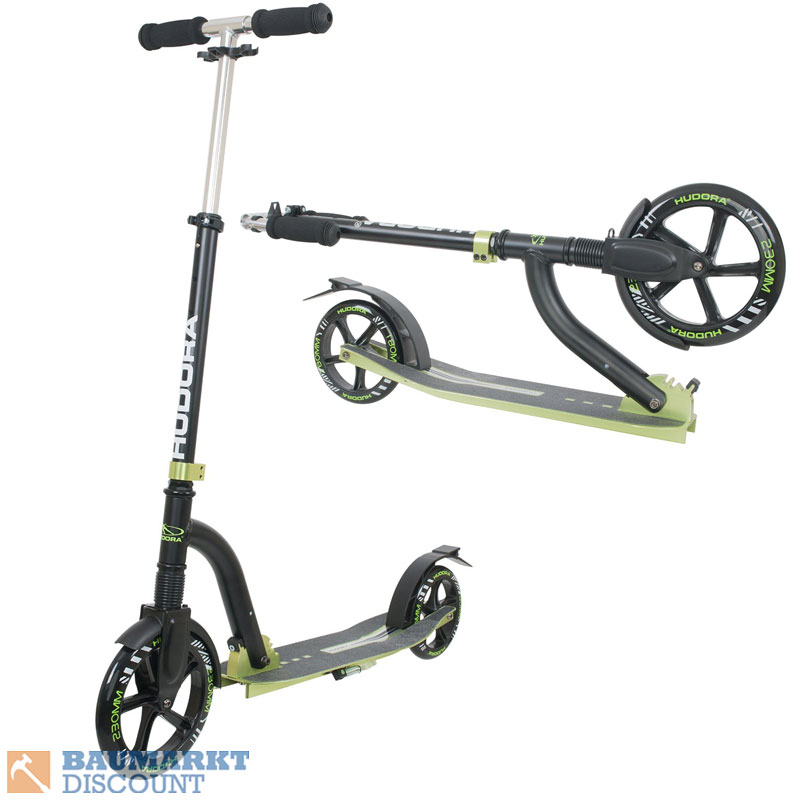 hudora scooter big wheel bold cushion 230 roller nr 14242 ebay. Black Bedroom Furniture Sets. Home Design Ideas