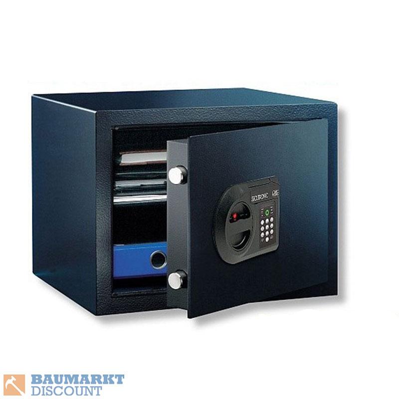 burg w chter m beleinsatztresor home safe h1 e ebay. Black Bedroom Furniture Sets. Home Design Ideas