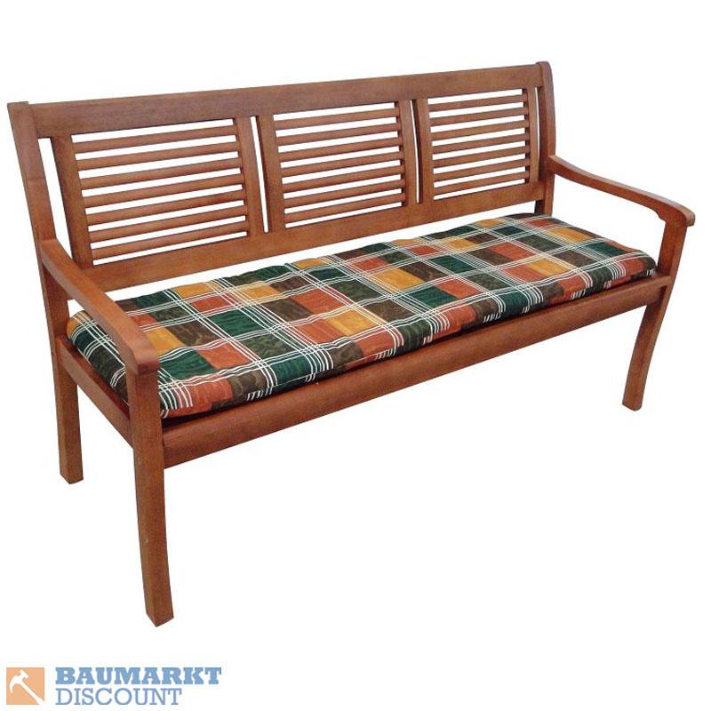 bankauflage 3 sitzer f r gartenbank paolo. Black Bedroom Furniture Sets. Home Design Ideas