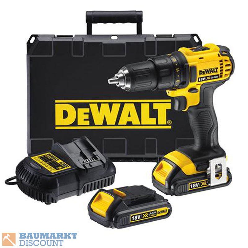 dewalt akkuschrauber dcd780c2 qw 18 volt 2 akkus 1 5 ah im koffer ebay. Black Bedroom Furniture Sets. Home Design Ideas