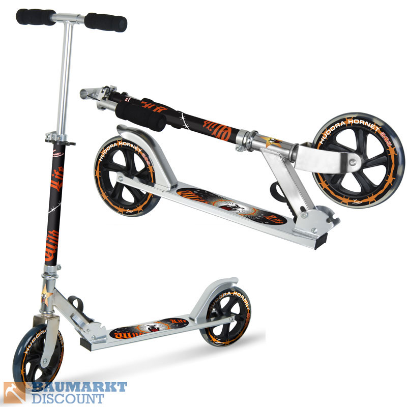 HUDORA-ROLLER-SCOOTER-HORNET-TOP-WHEEL-205-NEUHEIT
