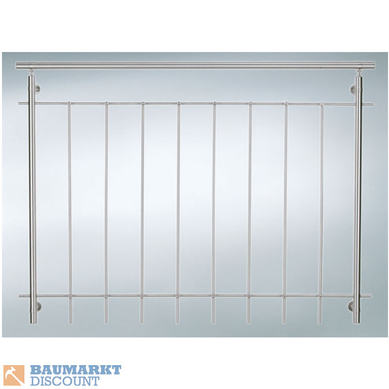 Dieda gel nder f r raumhohe fenster 120 cm breit v2a ebay for Fenster 2 meter breit
