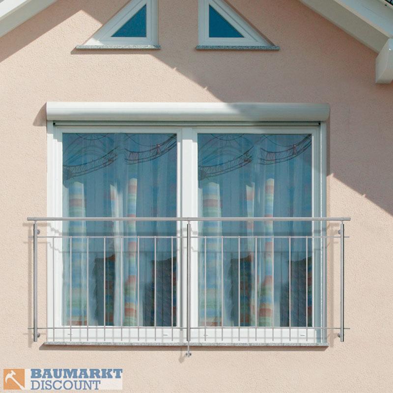 Dieda gel nder f r raumhohe fenster 120 cm breit v2a ebay for Fenster schnelle lieferung