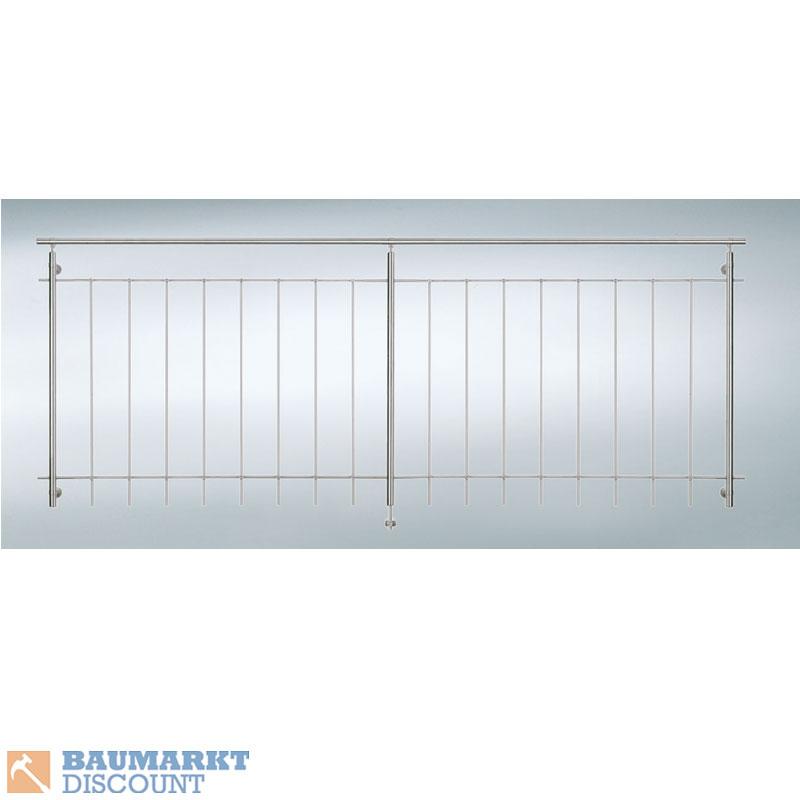 Dieda gel nder f r raumhohe fenster 250 cm breit v2a for Fenster 2 meter breit