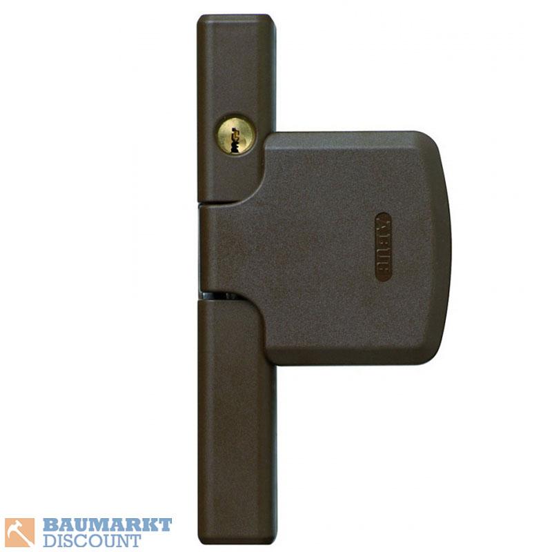 abus fenstersicherung fensterschloss fts 206 braun gleichschlie end al0125 ebay. Black Bedroom Furniture Sets. Home Design Ideas