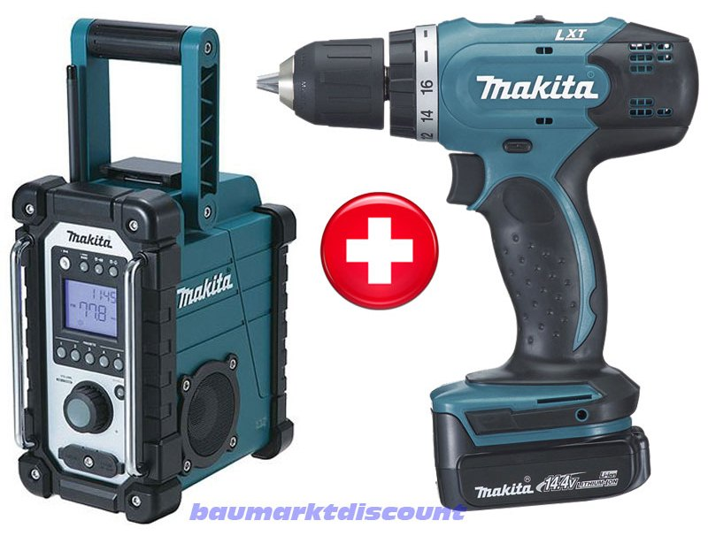 makita akkuschrauber bdf 343 rhe makita radio bmr 102 ebay. Black Bedroom Furniture Sets. Home Design Ideas